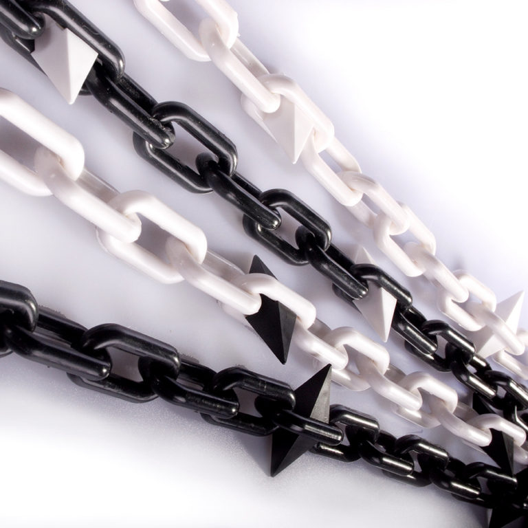 8mm Plastic Diamond Chain