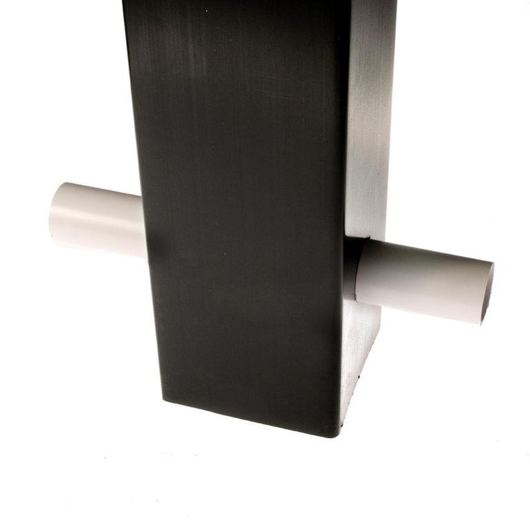 Black Premier Post Ground Fix Retaining Pin