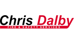 Chris Dalby Fire Logo