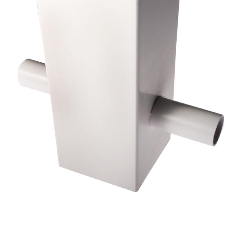 White Premier Post Ground Fix Retaining Pin