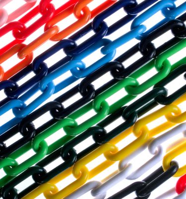 6mm and 8mm Standard Colour Chains